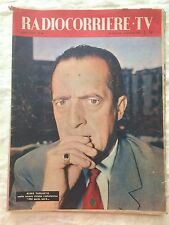 Radiocorriere TV n.26 luglio 1958 - Nino Taranto