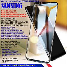 VITRE VERRE Trempé Samsung S20 FE A90 A80 A71 A60 A51 A50 A42 A41 A31 A30 A10 A6