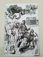 DC'S YOUNG ANIMALS ASHCAN BW BOOKLET EDITION 2017 DOOM PATROL! SHADE! WHO'S WHO!