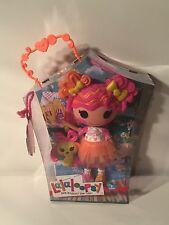 "NEW Lalaloopsy Full Size 12"" Sweetie Candy Ribbon w/ Pet Dog Puppy"