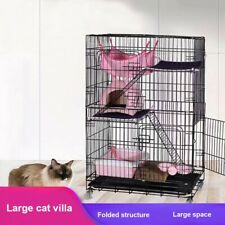 Large Ferret Cage Chinchilla Rabbit Hamster Guinea Pig House Small Pets Home Us