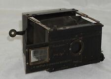 Block Notes Strut Folding Camera by Gaumont w/ Magazine Back