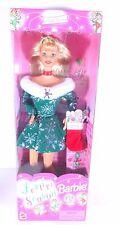 NIB BARBIE DOLL 1997 FESTIVE SEASONS HOLIDAY CHRISTMAS EDITION