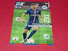 THIAGO MOTTA PARIS SAINT-GERMAIN PSG FOOTBALL ADRENALYN CARD PANINI 2015-2016
