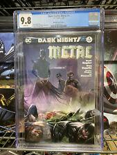 Dark Nights: Metal 4 CGC 9.8 Mattina Variant Cover A
