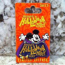 Disney Parks & Disneyland Mickey's Halloween Party Glitter Vampire Event Pin