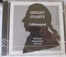 MOZART / STAMITZ VIOLIN-CELLO CONCERT - RARE IMPORT CD - ULRICH SCHMID-BRAND NEW