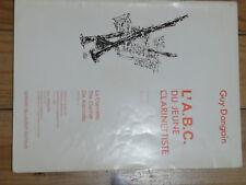 livres musique clarinette pour débutant partitions