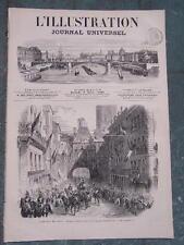 L'ILLUSTRATION 1319 6/6/1868 EMPEREUR ROUEN TROUBLES JAPON SAINT-AUGUSTIN PARIS