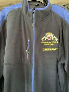 Sheffield Tigers Speedway Fleece Jacket. XXL Size. Brand New.