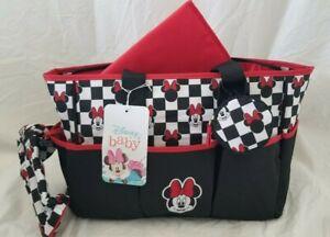 Disney Baby Minnie Mouse Diaper Bag NWT
