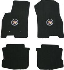 Lloyd Mats 4 pc Floor Mat Set 2008-2011 Cadillac DTS Black silver crest on Front