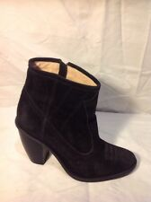 Opening Ceremony Black Ankle Suede Boots Size 36
