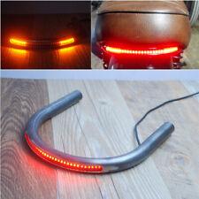 Motorcycle Rear Seat Ring Hoop LED Brake Indicator Light for Cafe Racer Bike 1x