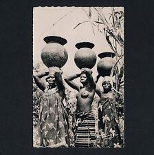 Africa PORTER WOMEN / TRÄGERINNEN FRAUEN * Vintage 50s Ethnic Nude Photo PC