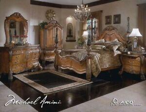 AICO by Michael Amini Eden 5PC king size bedroom set