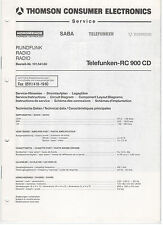 Service Manual Telefunken Thomson Rundfunk RC900CD (151)