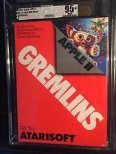 Gremlins Atari Apple II VGA 95+U  1984 Super Mint Highest Grade