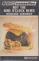 Not The Nine O' Clock News Hedgehog Sandwich Cassette Audio BBC Comedy Mel Smith
