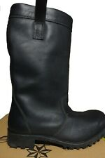 BRAND NEW - SIZE 11.5 FIREMAN / FIRE FIGHTING / MOTORCYCLE BOOTS -  NITRILE SOLE