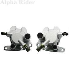 Front Left Right Brake Caliper W/ Pad For SUZUKI OZARK 250 LTF 250 LT-F250 02-12