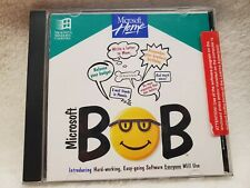 Microsoft Bob CD Vintage 1994 OEM