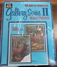 Craft Master Paint By Number Gallery Series II 1151 The Hunted Sealed Oil PBN