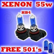 55w XENON HEADLIGHT BULBS Alfa GTV + SPIDER 96- HB4 501