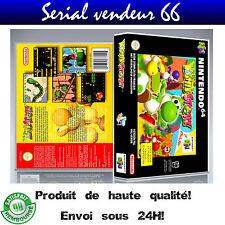 """Boitier du jeu """" YOSHI'S STORY """", Nintendo 64, visuel PAL FR. HD"""