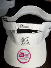 Miami Marlins Women's New Era MLB Rapid Pace Sun Visor Hat Cap Golf Tennis Sport