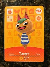 Tangy #244 Animal Crossing Amiibo Series 3 Card In Mint Condition Unscanned