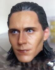 1/6 scale Toy era Loki head The Avengers The Thor Loki Tom Hiddleston HW/O Neck