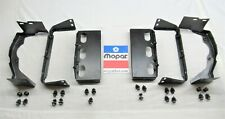 Restored 1972 72 Dodge Charger Rallye SE grille brackets set 6 pieces with bolts