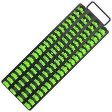 Socket Tray Rail Holder Bright Green Black Hi Vis Clipboard Hanging  440MM LONG