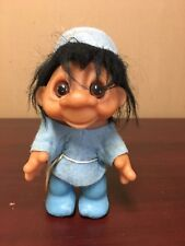 """vintage 1980 trall 8"""" with original clothing & hat 24-4"""