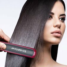Hair Straightener Brush Massager Straightening Instant Detangling Heat up Brush