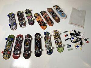 Tech Deck Skateboards Fingerboards x 13 + Accessories Bundle Alien Workshop ETC