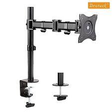 "Brateck Single-Arm Steel VESA Desk Mount for 13"" to 27"" Monitors LDT07-C012"