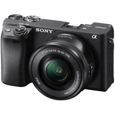 "Sony Alpha A6400 16-50mm 24.2mp 3"" Digital Camera New Agsbeagle"