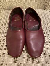 Men's Church's Burgundy Wine Leather Slippers Size UK 8 F.
