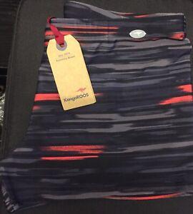 new ladies KangaROOS athletic shorts pants gym  packed uk size M/L