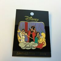 History of Art - Aladdin 1992 Ali Jasmine and Jafar - LE 1300 Disney Pin 22907
