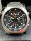 sinn 142 M lemania 5100 Space Chronograph Automatic Men's Watch Used