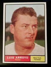 1961 Topps #142 Luis Arroyo
