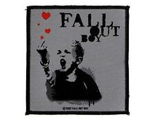 FALL OUT BOY finger of love 2007 - WOVEN SEW ON PATCH official - no longer made