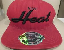 Men's MIAMI HEAT Hat/Cap - NBA Draft - Anniversary Collection - One Size - New