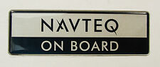 Genuine New PEUGEOT Badge 206 207 307 407 607 308 508 Partner NAVTEQ ON BOARD