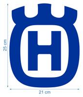 Husqvarna Large Logo Die-Cut Vinyl Decals Stickers Aufkleber Adesivi /657