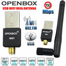 WiFi USB Dongle Adattatore con antenna per Openbox V5 V5S V8 v8s v8s F5 F5S F3 F3S