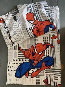 Boys Spiderman single duvet cover